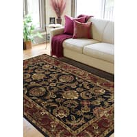 Hand-tufted New Zealand Wool Area Rug - 8' X 11'