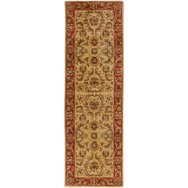 Hand-tufted New Zealand Wool Rug (2'6 x 8')