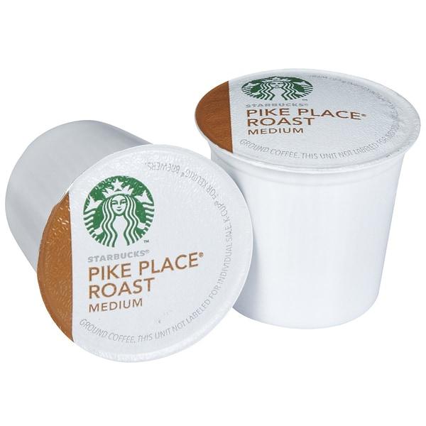 Starbucks Pike Place Roast Coffee 96 K-Cups for Keurig Brewers