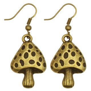 Kate Marie Vintage Mushrooms Earrings