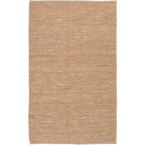 premium selection 883d3 62e37 Shop Hand-woven Moncalieri Wheat Natural Fiber Jute Area Rug ...
