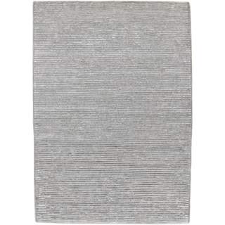 Hand-knotted Severo Grey Wool Rug (9' x 13')