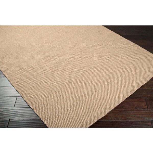 Hand-woven Teramo Natural Fiber Jute Area Rug (5' x 8') - 5' x 8'