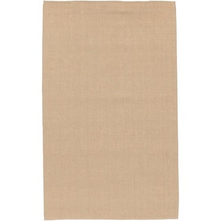 Hand-woven Teramo Natural Fiber Jute Rug (5' x 8')