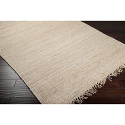 Handwoven Modica Wheat Jute Natural Fiber Jute Rug (8' x 11')