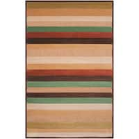 Velletri Mulitcolored Stripe Indoor/Outdoor Area Rug - 7'10 x 10'8