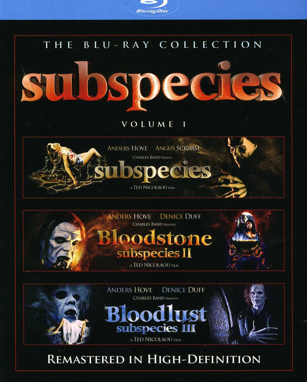 Subspecies Box Set (Blu-ray Disc)