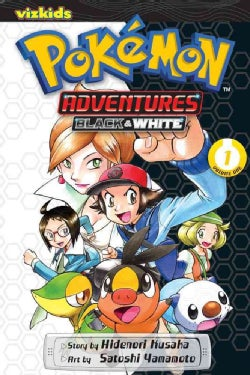 Pokemon Adventures 1: Black & White (Paperback)