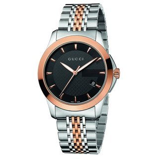 Gucci Men's Pink-tone Steel Timeless Watch