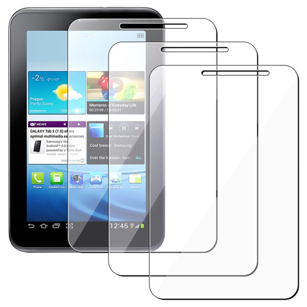INSTEN Clear Screen protector for Samsung Galaxy Tab 2 P3100/ P3110/ 7.0 (Pack of 3)