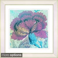 Studio Works Modern 'Maria's Treasure - Turquoise' Framed Print