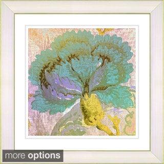 Studio Works Modern Maria's Treasure - Green' Framed Print