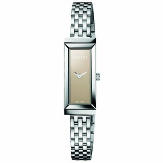 Gucci Women's Stainless Steel G-Frame Rectangle Watch