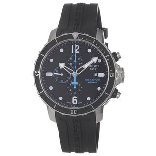 Tissot Men's T0664271705700 Stainless Steel Seastar Automatic Watch