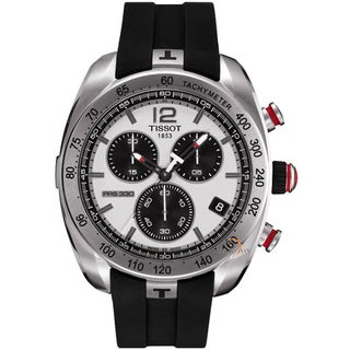 Tissot Men's T0764171708700 'PRS-330' Stainless Steel Chronograph Watch