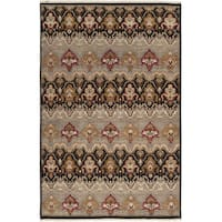 Hand-knotted Settat Grey New Zealand Wool Area Rug (2' x 3')