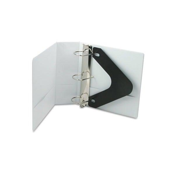 Wilson Jones Basic D-Ring Vinyl View White 4-inch Binder (Pack of 6)