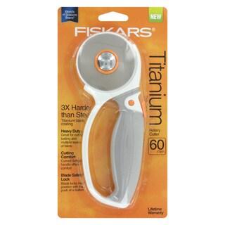 Fiskars Titanium Comfort Loop Handle 60mm Rotary Cutter
