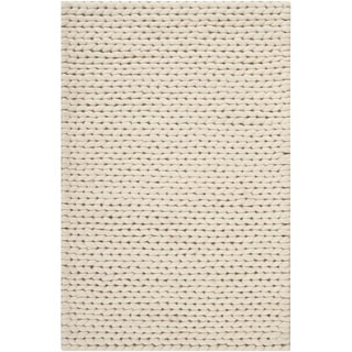 Shop Hand Woven Attert White New Zealand Wool Soft Braided