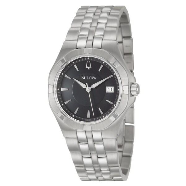 Bulova Men's Stainless Steel 'Dress' Watch
