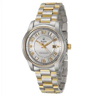 Bulova Men's 98B140 Yellow Gold-plated Steel 'Precisionist' Watch