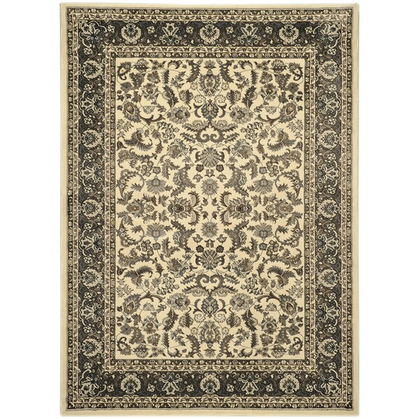 Ottomanson Sultan Oriental Mahal Ivory Area Rug (7'10 x 9'10)