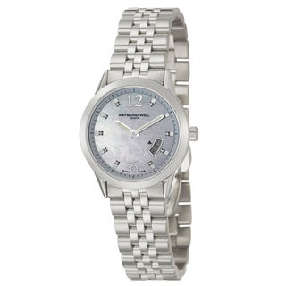 Raymond Weil Women's Stainless Steel 'Freelancer' Watch