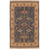 Hand-knotted Fes Semi-Worsted New Zealand Wool Area Rug - 9' x 12'