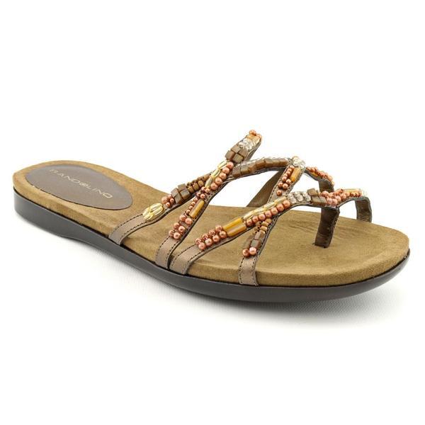 Bandolino Women's 'Qara 3' Synthetic Sandals (Size 9.5)