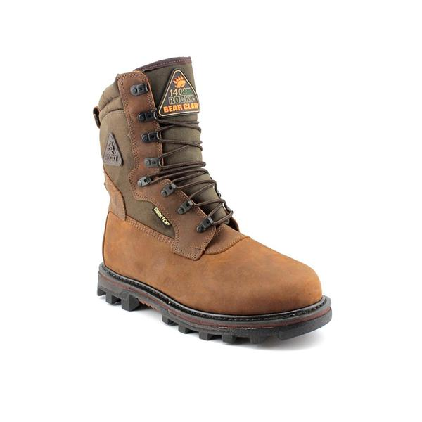 "Rocky Men's '10"" Arctic BearClaw 3D' Leather Boots (Size 11.5)"