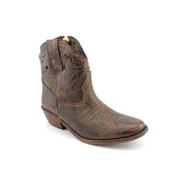 Steven Steve Madden Women's 'Vestted' Distressed Leather Boots (Size 6.5)