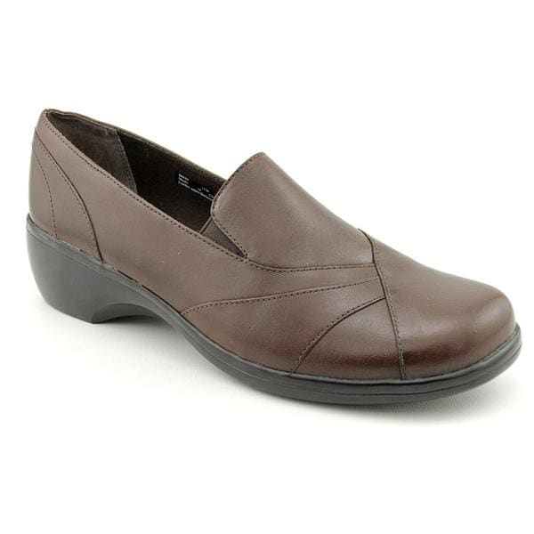 clarks s blackberry leather dress shoes wide