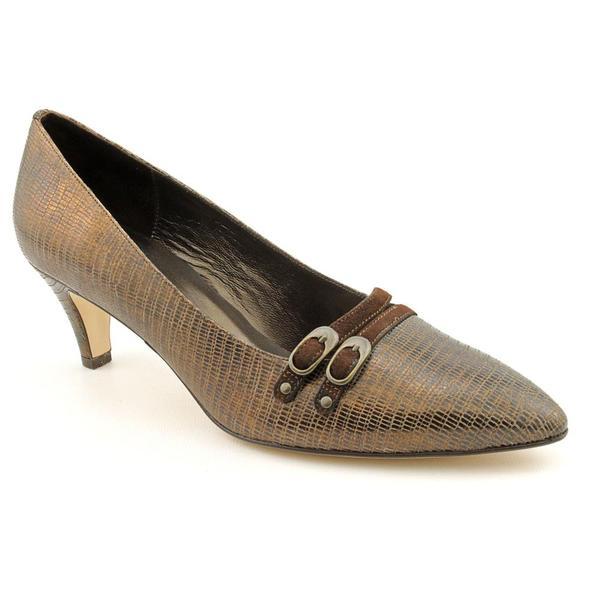 Renzo Fontanelli Women's 'Naples' Animal Print Dress Shoes - Wide