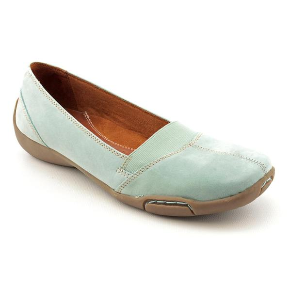 Auditions Women's 'Hanover' Nubuck Casual Shoes - Extra Wide (Size 9.5)