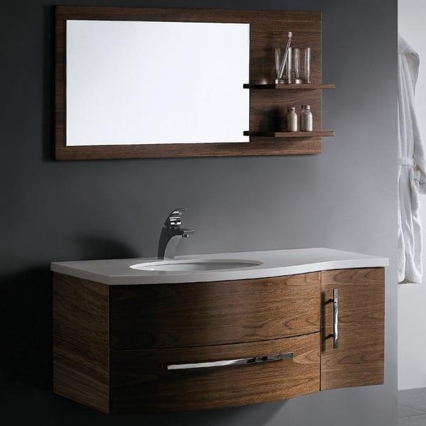 Vigo 44 Inch Single Bathroom Vanity