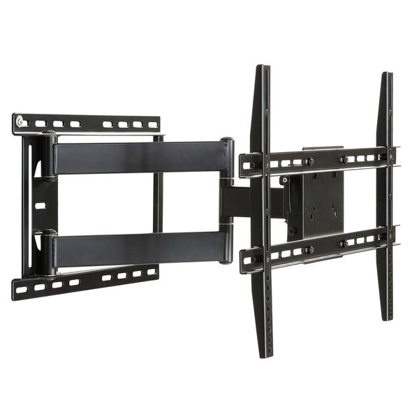 DarLiving Large Full Motion Articulating Mount For 19 inch to 80 inch Flat Screen TV In Black