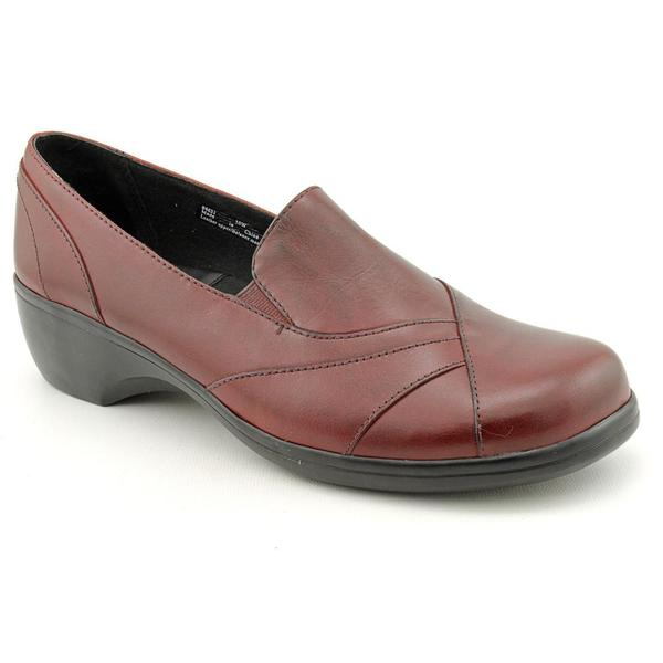 9a97efca4662 Shop Clarks Women s  84631  Leather Casual Shoes - Wide (Size 10 ...