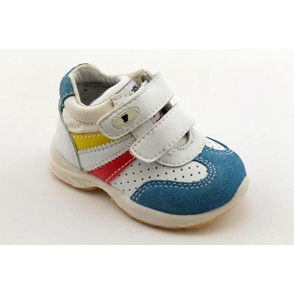 Falcotto Boy's '764' Leather Athletic Shoe (Size 2)