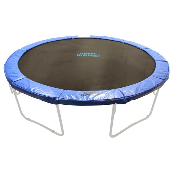 Upper Bounce 14 Ft Trampoline Enclosure Net: Upper Bounce 8-foot Super Trampoline Safety Pad (Spring