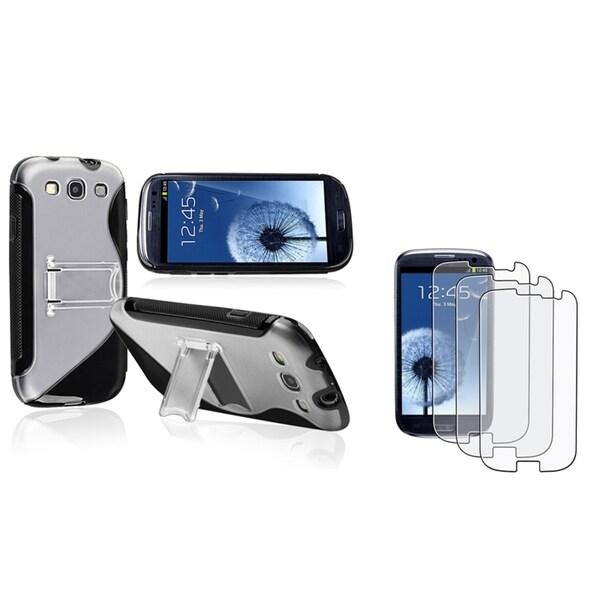 BasAcc Case/ Anti-Glare LCD Protector for  Samsung Galaxy S III/ S3
