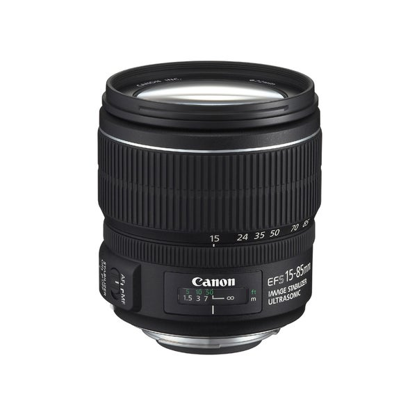 Canon EF-S 15-85mm f/3.5-5.6 IS USM Lens (New in Non-retail Packaging)