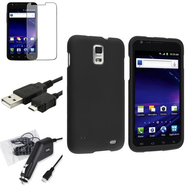 INSTEN Phone Case Cover/ Screen Protector for Samsung Galaxy S2 Skyrocket i727