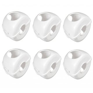 Munchkin White Doorknob Covers (Pack of 6)