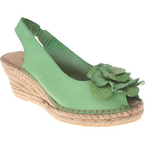 Women's Azura Flashback Green Leather
