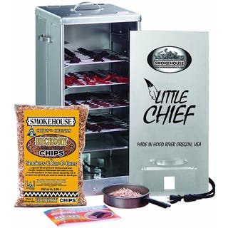 Smokehouse Little Chief 250W Front Load 25-pound Capacity Smoker|https://ak1.ostkcdn.com/images/products/7626091/P15045723.jpg?impolicy=medium