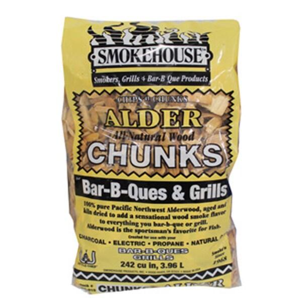 Smokehouse Alder Smoking Chunks