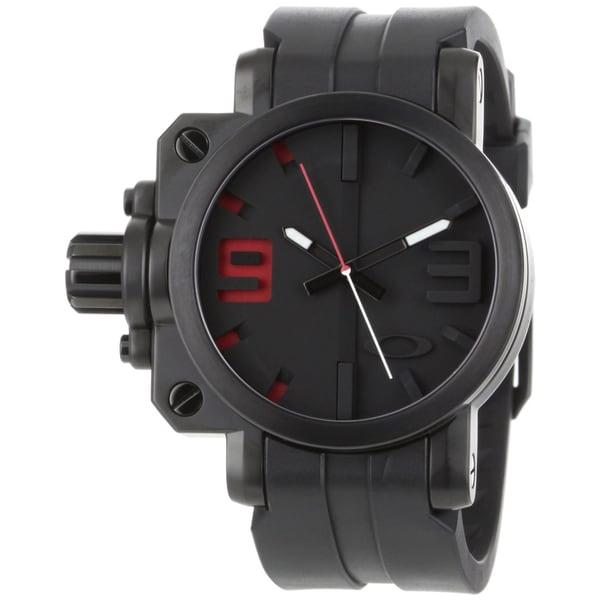 Oakley Men's Stainless Steel Gearbox Watch