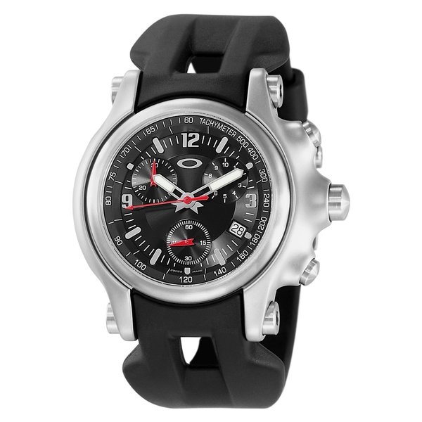 Shop Oakley Men s Stainless Steel Holeshot Watch - Free Shipping ... ce820329e5