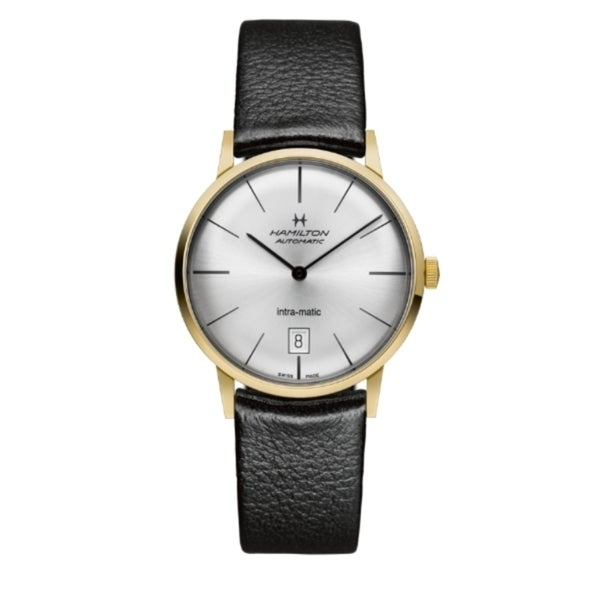 Hamilton Men's Yellow Gold Steel Intra-matic Automatic Watch