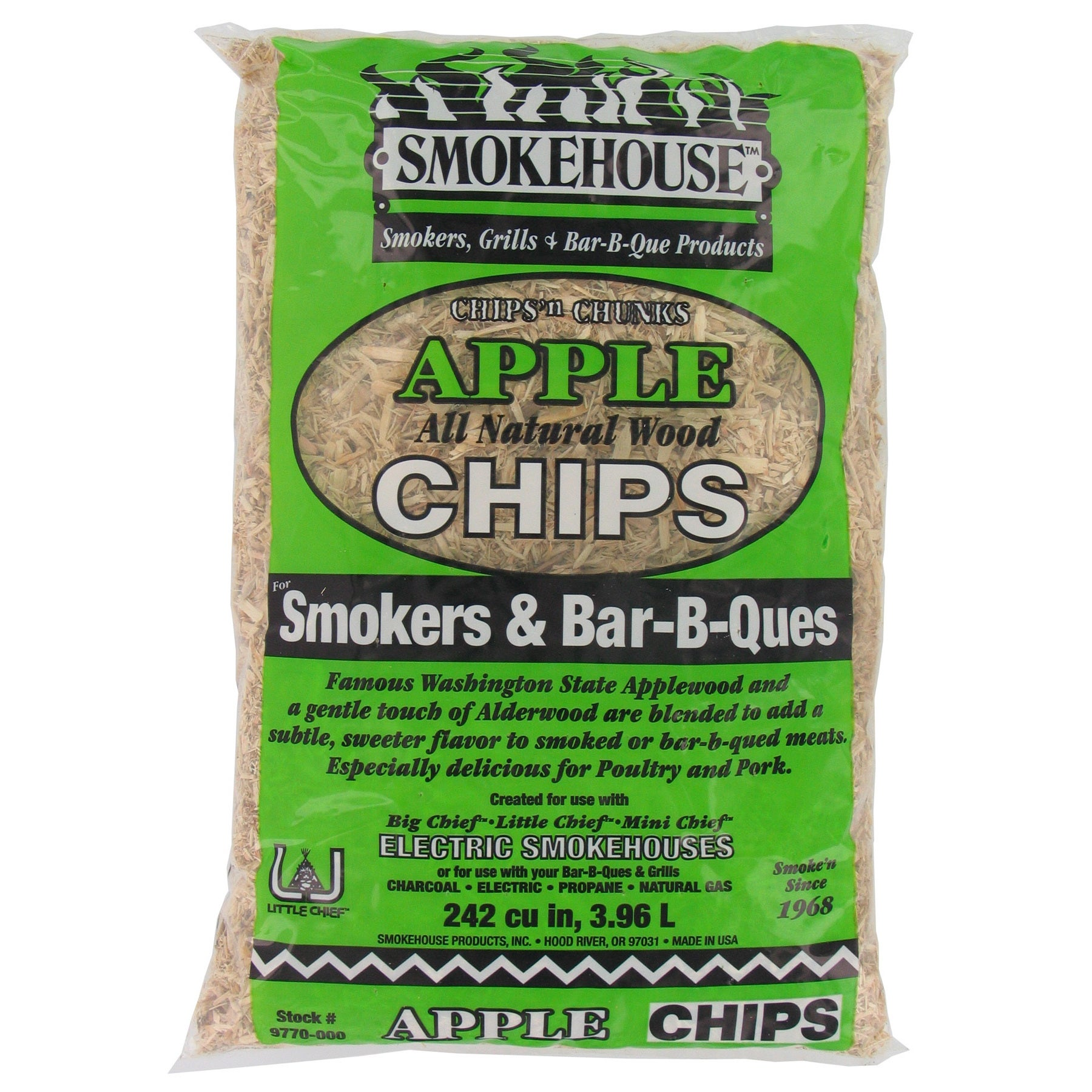 Smokehouse Products 9770-000-0000 Hickory Apple Flavored ...